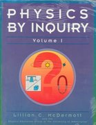Physics by Inquiry 0 9780471548706 0471548707