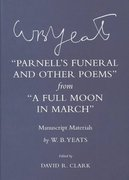 Parnell's Funeral and Other Poems from a Full Moon in March 0 9780801441837 0801441838