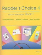 Reader's Choice 4, Split Edition Book 1 4th edition 9780472088638 0472088637