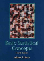 Basic Statistical Concepts 4th Edition 9780137371808 0137371802