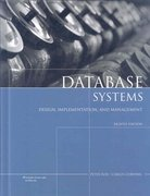 Database Systems: Design, Implementation, and Management 8th Edition 9781423902010 1423902017