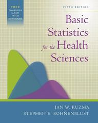 Basic Statistics for the Health Sciences 5th Edition 9780072844030 0072844035