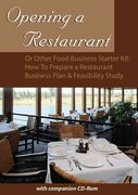Opening a Restaurant or Other Food Business Starter Kit 0 9780910627368 0910627363