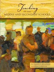 Teaching in the Middle and Secondary Schools 9th edition 9780131589742 0131589741