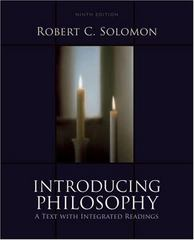 Introducing Philosophy 9th edition 9780195329520 019532952X