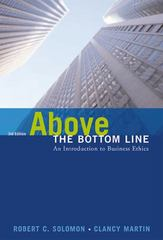 Above the Bottom Line 3rd edition 9780155059504 0155059505