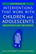 Handbook of Interventions that Work with Children and Adolescents 1st Edition 9780470844533 0470844531