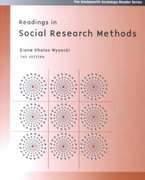 Readings In Social Research Methods (The Wadsworth Sociology Reader Series) 2nd edition 9780534619299 0534619290