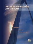 Technical Mathematics with Calculus 2nd edition 9780130488220 0130488224