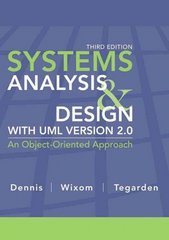 Systems Analysis and Design with UML 3rd Edition 9780470074787 0470074787