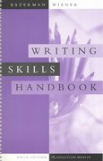 Writing Skills Handbook 5th edition 9780618226030 0618226036