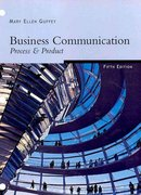 Freedom LL Version: Business Communication: Process & Product 5th edition 9780324403268 0324403267
