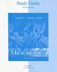 Microbiology Study Guide 6th edition 9780072864854 0072864850