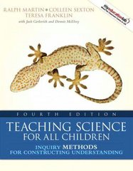 Teaching Science for All Children 4th Edition 9780205593514 0205593518