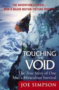 Touching the Void 0 9780060730550 0060730552
