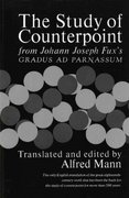 The Study of Counterpoint 0 9780393002775 0393002772