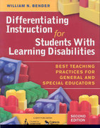 Differentiating Instruction for Students With Learning Disabilities 2nd edition 9781412954464 1412954460