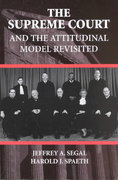 The Supreme Court and the Attitudinal Model Revisited 0 9780521789714 0521789710