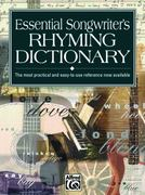 Essential Songwriter's Rhyming Dictionary 0 9780882847290 0882847295