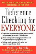 Reference Checking for Everyone 1st edition 9780071423670 0071423672