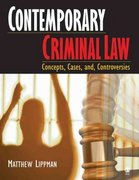 Contemporary Criminal Law 1st edition 9781412905800 141290580X
