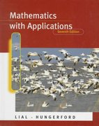 Mathematics with Applications 7th edition 9780321022943 0321022947