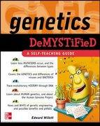 Genetics Demystified 1st Edition 9780071490511 0071490515