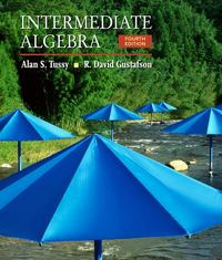 Intermediate Algebra 4th edition 9780495389736 0495389730