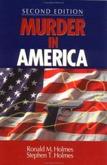 Murder in America 2nd edition 9780761920922 0761920927