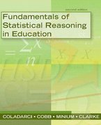 Fundamentals of Statistical Reasoning in Education 2nd edition 9780470084069 0470084065