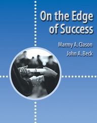 On the Edge of Success 1st edition 9780534569730 0534569730