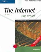 New Perspectives on the Internet, Fifth Edition, Comprehensive 2005 Update 5th edition 9780619268138 0619268131