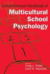 Comprehensive Handbook of Multicultural School Psychology 1st edition 9780471266150 0471266159