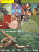 Cengage Advantage Books: Evolution and Prehistory 7th edition 9780534610104 0534610102