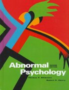 Abnormal Psychology 2nd edition 9780137281978 0137281978