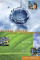 Global Issues, Local Arguments 1st edition 9780321244239 0321244230