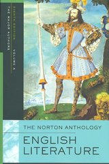 The Norton Anthology of English Literature 8th Edition 9780393928303 0393928306