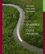 Introduction to Statistics and Data Analysis (with CengageNOW Printed Access Card) 3rd edition 9780495118732 0495118737