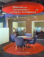 Materials and Components of Interior Architecture 7th edition 9780131587045 0131587048