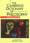 The Cambridge Dictionary of Philosophy 2nd Edition 9780521637220 0521637228