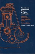 The Internal Combustion Engine in Theory and Practice 2nd edition 9780262700276 0262700271