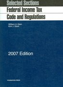 Federal Income Tax Code and Regulations 2007th edition 9781599411361 1599411369