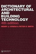 Dictionary of Architectural and Building Technology 4th edition 9780415312349 0415312345