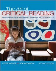 The Art of Critical Reading 2nd Edition 9780073385693 0073385697
