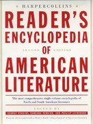 The HarperCollins Reader's Encyclopedia of American Literature 2nd edition 9780060198152 006019815X