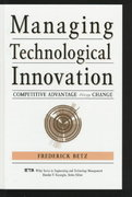 Managing Technological Innovation 1st edition 9780471173809 0471173800