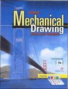 Glencoe Mechanical Drawing: Board and CAD Techniques, Student Edition 1st Edition 9780078796050 0078796059