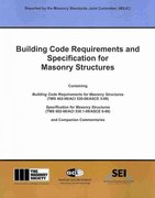 Building Code Requirements and Specification for Masonry Structures 0 9781929081295 1929081294