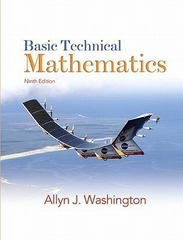 Basic Technical Mathematics Value Package (includes MyMathLab/MyStatLab Student Access ) 9th edition 9780136065357 013606535X