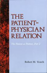 The Patient-Physician Relation 1st Edition 9780253362070 0253362075